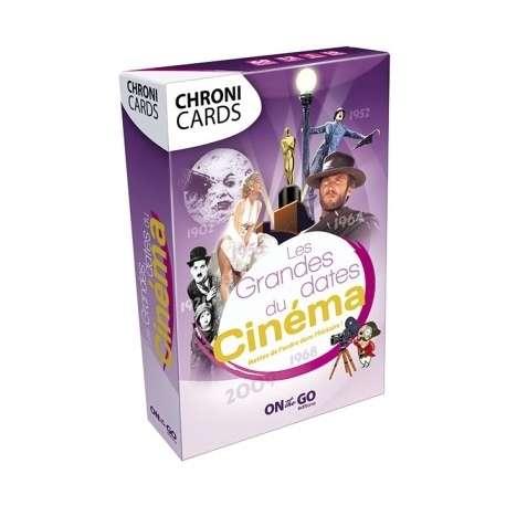 """Chronicards """"Les grandes dates du cinéma"""""""