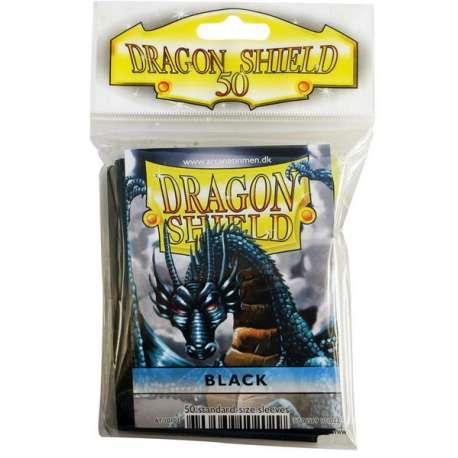 50x Dragon Shield Fifty - MTG 63.5x88 Black