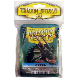50x Dragon Shield Fifty - MTG 63.5x88 Green
