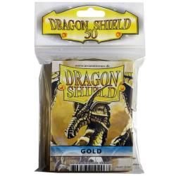 50x Dragon Shield Fifty - MTG 63.5x88 Gold
