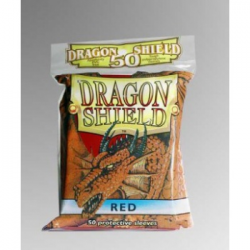 50x Dragon Shield Fifty - MTG 63.5x88 Red