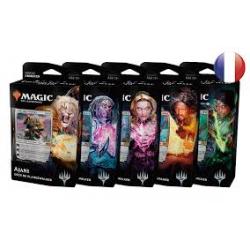 MTG Edition de Base 2019 : Les 5 Planewalker Deck (1 de chaque couleur) FR