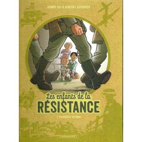 Enfants de la Résistance (Les) - Tome 1 - Premières actions