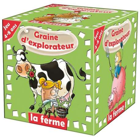 Graine d'explorateur La ferme