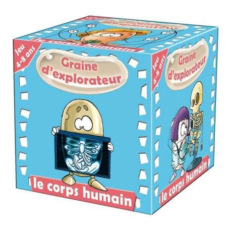 Graine d'explorateur Le corps humain