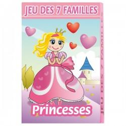 Jeu de 7 familles Princesses
