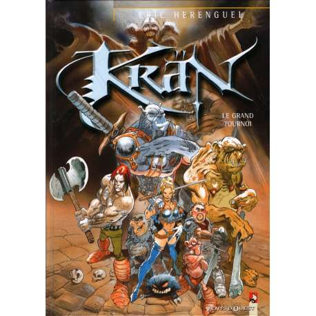 Krän - Tome 4 - Le grand tournoi