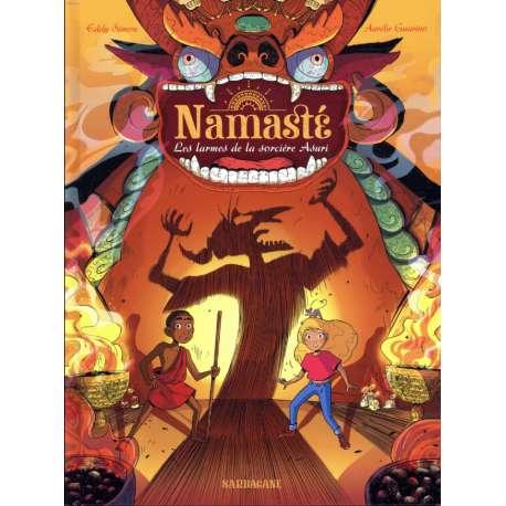 Namasté - Tome 3 - Les larmes de la sorcière Asuri