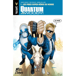 Quantum & Woody - Tome 1 - Les Pires Super-héros du monde