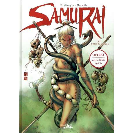 Samurai - Tome 12 - L'Œil du dragon