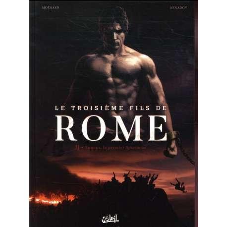 Troisième fils de Rome (Le) - Tome 2 - Eunous, le premier Spartacus