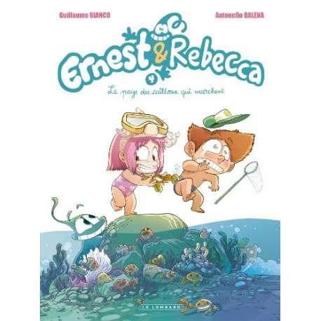 Ernest & Rebecca - Tome 4 - Le pays des cailloux qui marchent