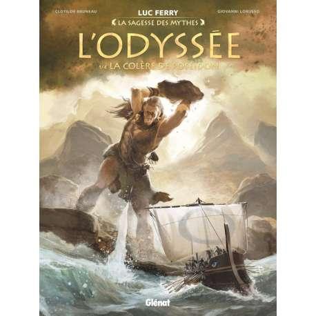 Odyssée (L') (Lorusso/Bruneau) - Tome 1 - La Colère de Poséidon