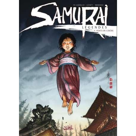 Samurai Légendes - Tome 4 - Vents de colère