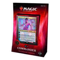 MTG Commander 2018 : Deck Invention Exquise FR