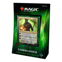 MTG Commander 2018 : Deck Vengeance de la Nature FR