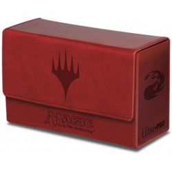 Ultra Pro DECKBOX MTG Dual Flip Box - ROUGE