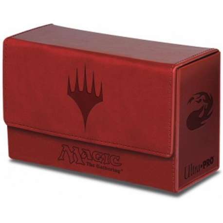 Ultra Pro DECKBOX MTG Dual Flip Box - ROUGE