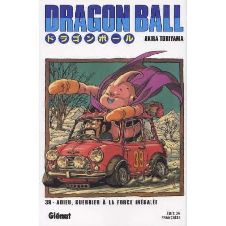 Dragon Ball (Édition de luxe) - Tome 39 - Adieu, guerrier à la force inégalée