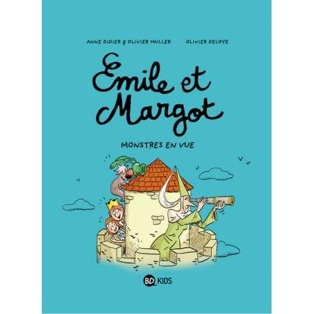 Émile et Margot - Tome 8 - Monstres en vue