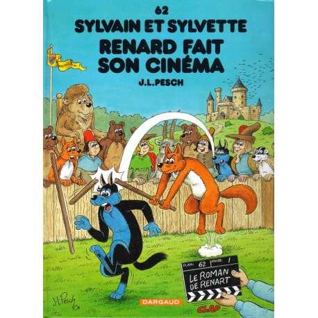 Sylvain et Sylvette - Tome 62 - Renard fait son cinéma
