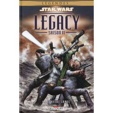 Star Wars - Legacy - Saison II - Tome 4 - Un unique empire