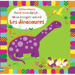 Mon imagier animé Les dinosaures