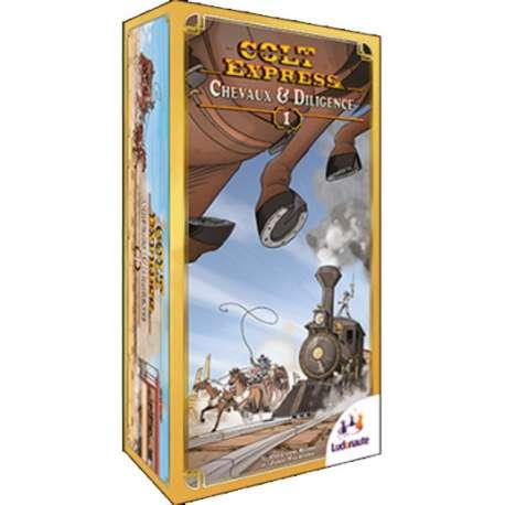 Colt Express : Chevaux et Diligence