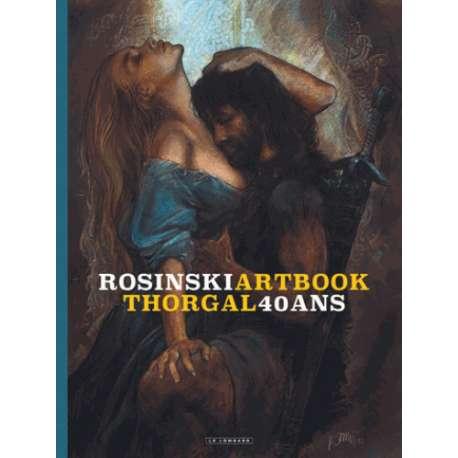 Artbook Thorgal 40 ans