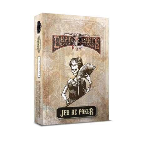 Deadlands : Jeu de Poker Blanc