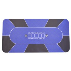 Tapis No Limit Rectangulaire Bleu (90/180cm)