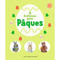 3 histoires pour Pâques - Zaza et les oeufs de Pâques. Pierre Lapin3 Adrien le lapin