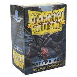 100x Dragon Shield MATTE - MTG 63.5x88 BLACK