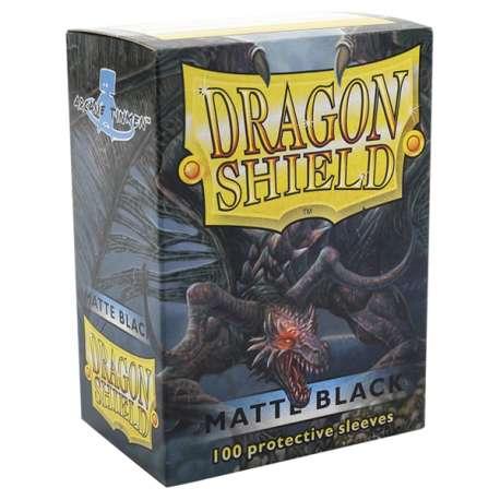 100x Dragon Shield MATTE - MTG 63.5x88 BLACK