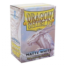 100x Dragon Shield MATTE - MTG 63.5x88 WHITE