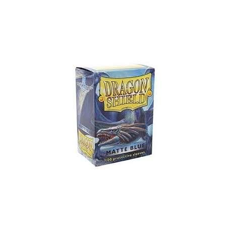 100x Dragon Shield MATTE - MTG 63.5x88 BLUE