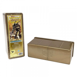 Dragon Shield Box 4 compartiments Gold