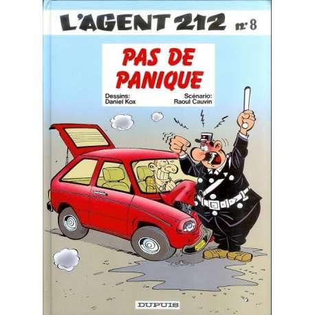 Agent 212 (L') - Tome 8 - Pas de panique