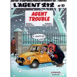 Agent 212 (L') - Tome 10 - Agent trouble