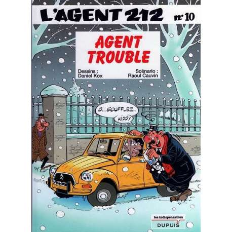 Agent 212 (L') - Tome 10 - Agent trouble