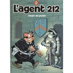 Agent 212 (L') - Tome 20 - Chair de poule