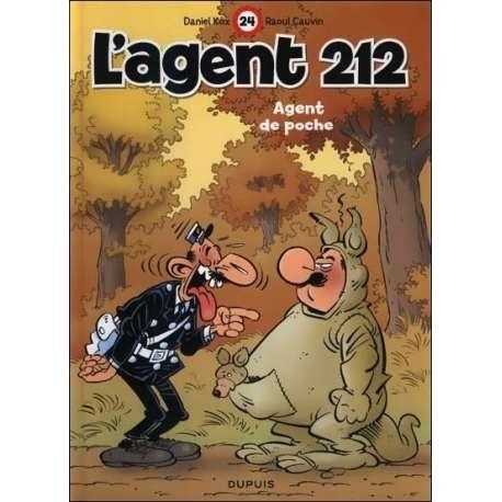 Agent 212 (L') - Tome 24 - Agent de poche