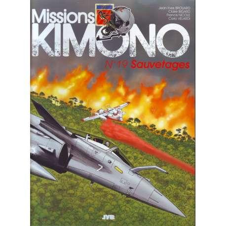 "Missions Kimono"" puis Missions Kimono - Tome 19 - Sauvetages"""