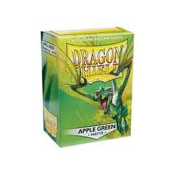 100x Dragon Shield MATTE - MTG 63.5x88 APPLE GREEN