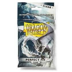 100x Dragon Shield Perfect Fit - Vertical