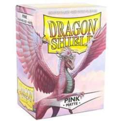 100x Dragon Shield MATTE - MTG 63.5x88 PINK