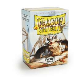 100x Dragon Shield MATTE - MTG 63.5x88 IVORY