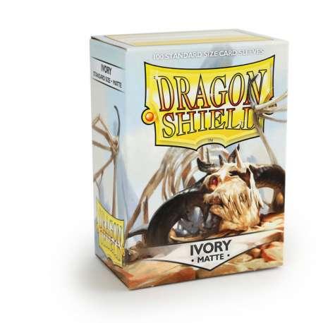 100x Dragon Shield MATTE - MTG 63.5x88 IVORY