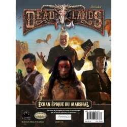 Deadlands : Écran épique du Marshall
