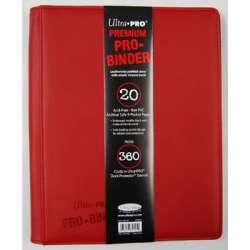 Premium Pro Binder 360 cartes ROUGE